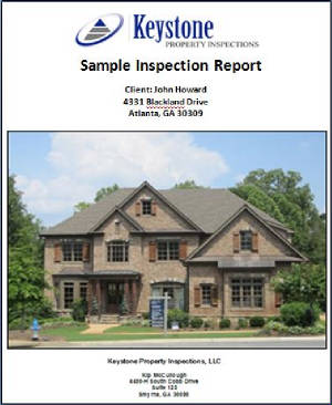 Atlanta Home Inspector Report